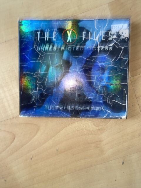 PC CD ROM The X-Files Unrestricted Access, 2 discs in original case (WIN 95)
