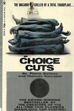 Choice Cuts  Pierre Boileau Horror 1968 Vintage Paperback VG
