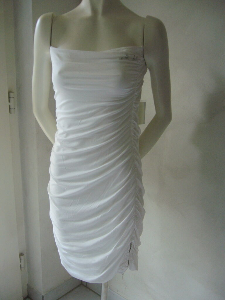 ARLETTE KABALLO  Kleid white schulterfreiGr.36,38,40UVP Euro 219,00NEU