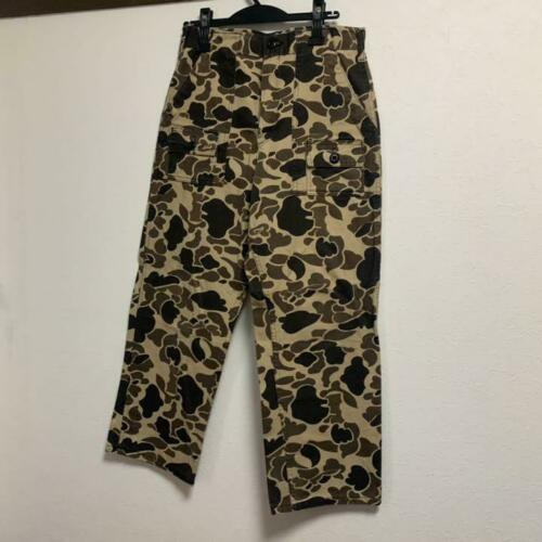 BEAMS PLUS Camouflage Pants Size M Used from Japan