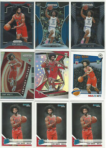 11-Rookie-Card-Lot-2019-20-Panini-Prizm-NBA-Hoops-COBY-WHITE-Chicago-Bulls