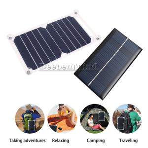 5v 10w 6v 1w Solar Power Charging Panel Usb Charger Board Portable Solar Module Ebay