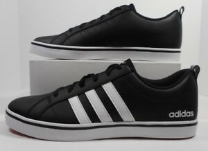 7368003d0ae Adidas Men s Neo Vs Pace B74494 Black White Leather Shoes New Size ...