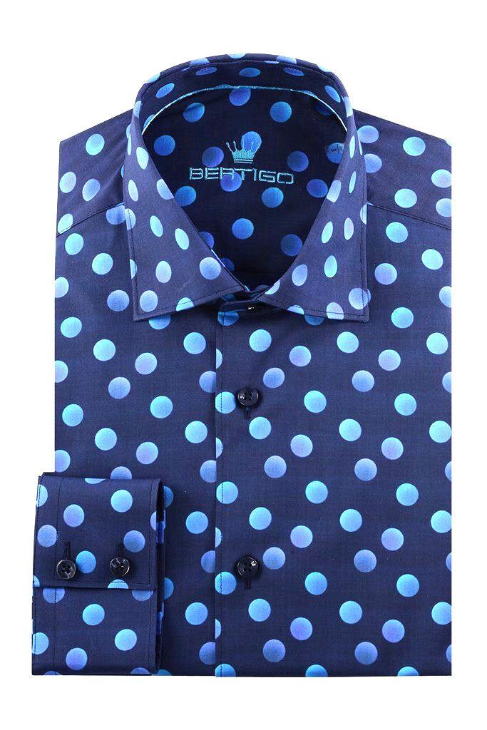 BERTIGO dress shirt APOLO - 92 ( WHITE LABEL ) REG   199