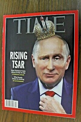 Time Magazine Vladimir Putin Rise Of The Strongman May 14 2018 Oceans 8 No Label For Sale Online Ebay