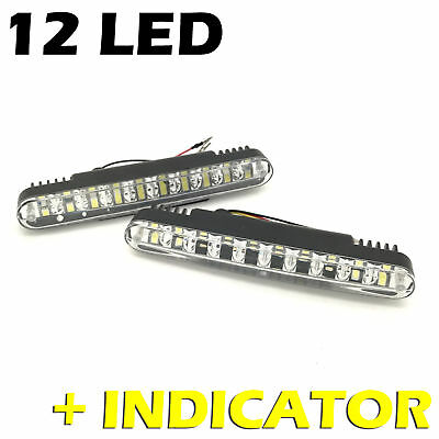 DRL DAY LIGHTS LED HIGH QUALITY DIRECT REPLACEMENT AUTOSWITCH E4 RL00 D