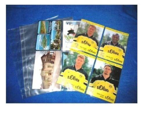 1000 Veloflex A4 Sammelhüllen Prospekthüllen Kartenhüllen 140 my 4x A6 10x15 cm