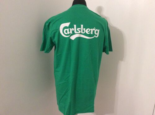 CARLSBERG LAGER PLECTRUM T SHIRT SIZE XL NEW AND UNUSED