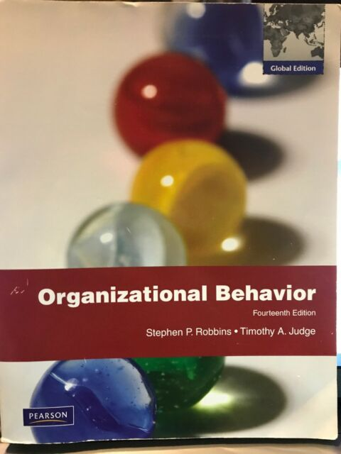 Organizational Behavior By Robbins And Judge 14th Edition International Book