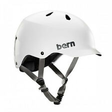 Bern Unlimited Watts EPS Summer Cycling Helmet (Satin White / XXL-3XL Size)