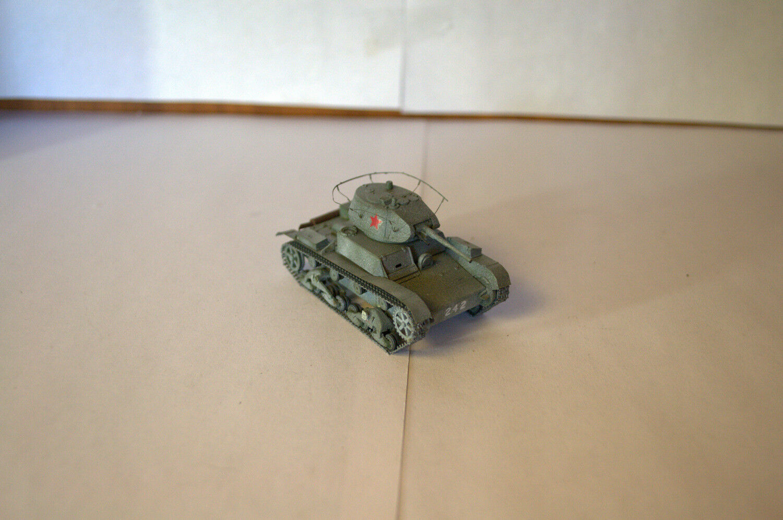 1 72 PROFESSIONAL BUILT MODEL WWII SOVIET LIGHT TANK T-26 1939 mod