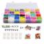 10-000-Rubber-Bands-Refill-Pack-Colorful-Loom-Kit-Organizer-for-Kids-Bracelet miniatuur 1