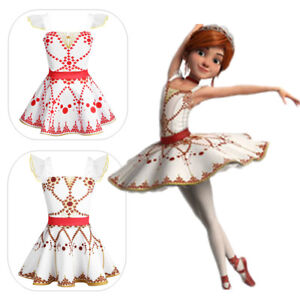 025cf5cf9696 Girl Kid Ballerina Leap Dress Dance Party Ballet Gymnastics Costume ...