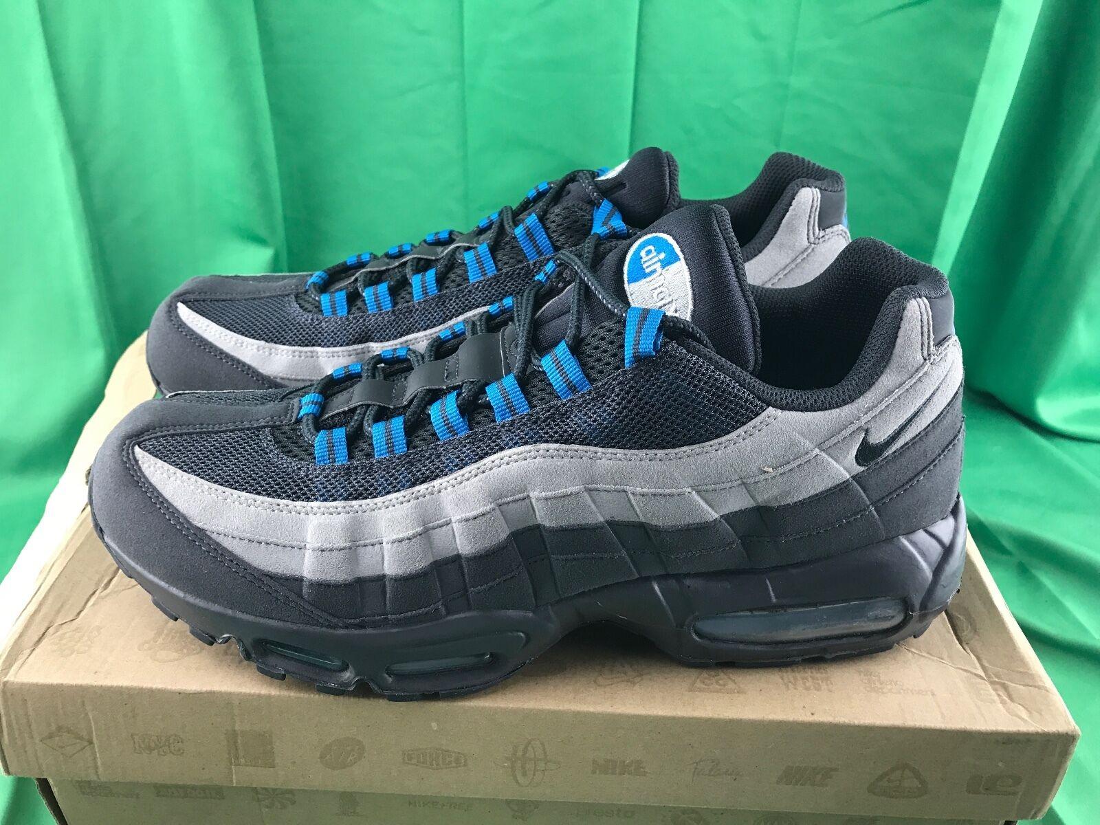 nike grauen air max 95 anthrazit grauen nike neutrale blaue männer größe 12 609048-052 og 2011 d9a0f4