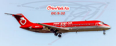 American Trans Air Airlines Boeing 757 Photo Magnet PMT1643