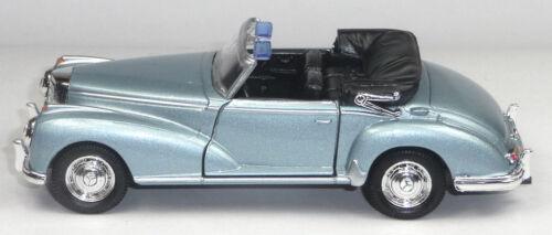 Blu Chiaro Soft-Top aperto 11,5cm merce nuova di Welly 1955 MERCEDES-BENZ 300s