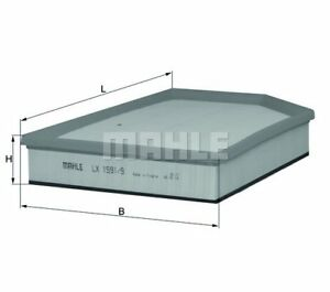 MAHLE-ORIGINAL-Air-Filter-LX-1591-9