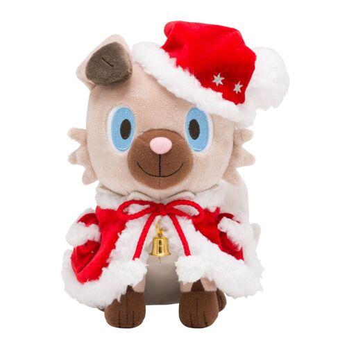 Pokemon Center Original Plush Doll Rockruff Christmas 2017 Japan