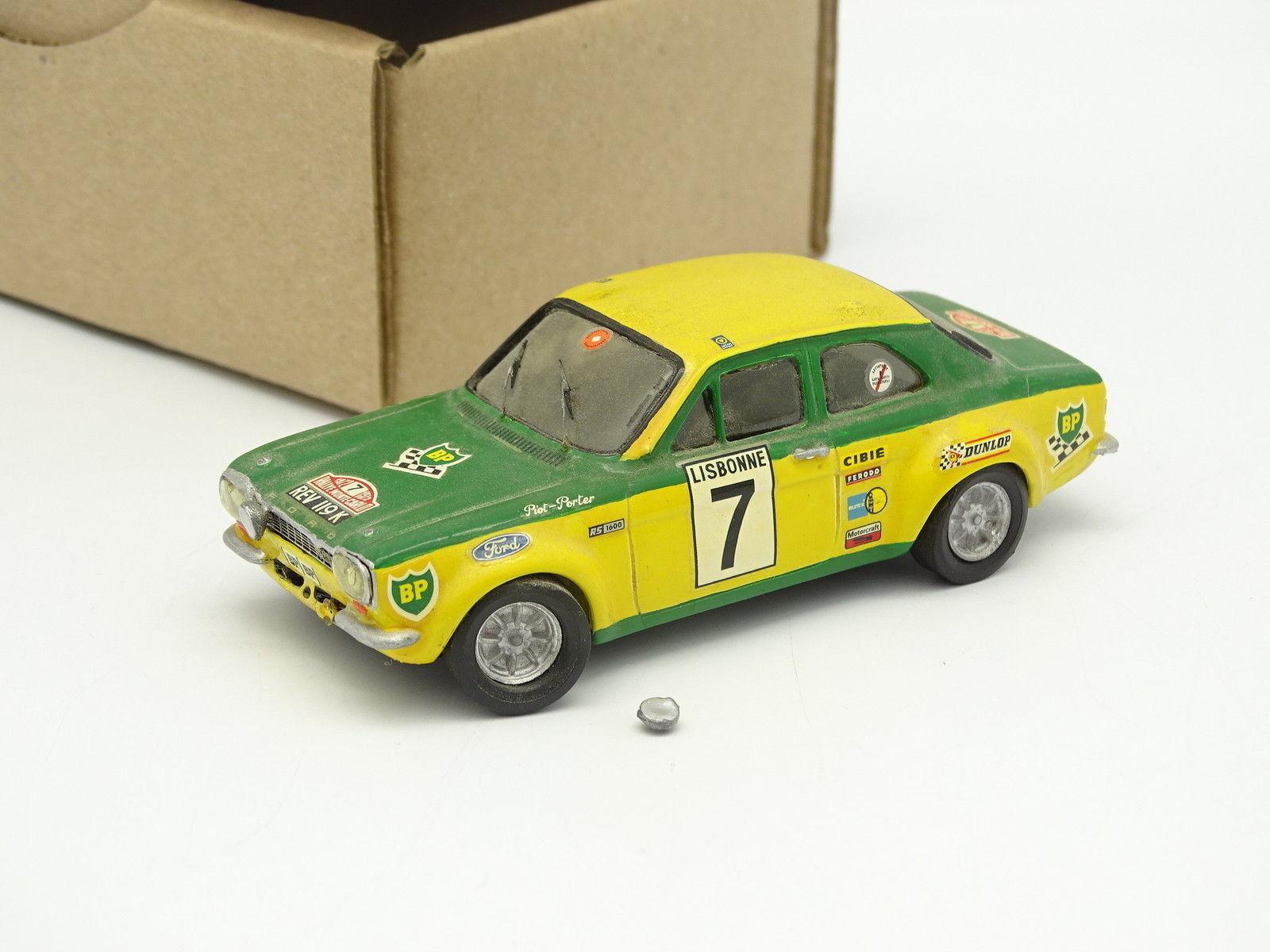 Starter - set aufgebaut sb 1   43 - ford escort rs rallye aufbau carlo 1972 nr.7