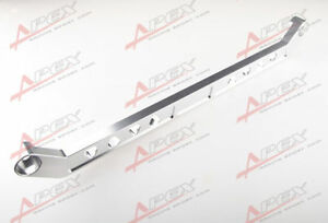 SILVER-CNC-BILLET-REAR-LOWER-TIE-BAR-FOR-CIVIC-92-95-INTEGRA-94-01