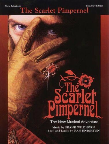The Scarlet Pimpernel Sheet Music Vocal Selections Book NEW 000321569