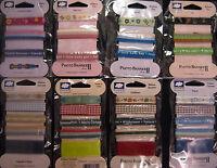 Lot Of Cloud9 Design Scrapbook Ribbon - 32 X 1 Yard Each Design Nip