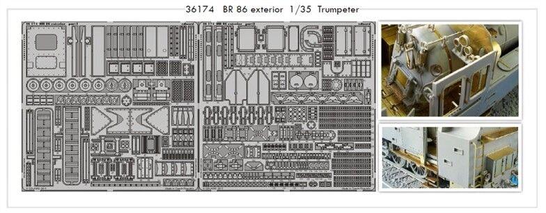 Eduard 1 35 BR 86 Exterior