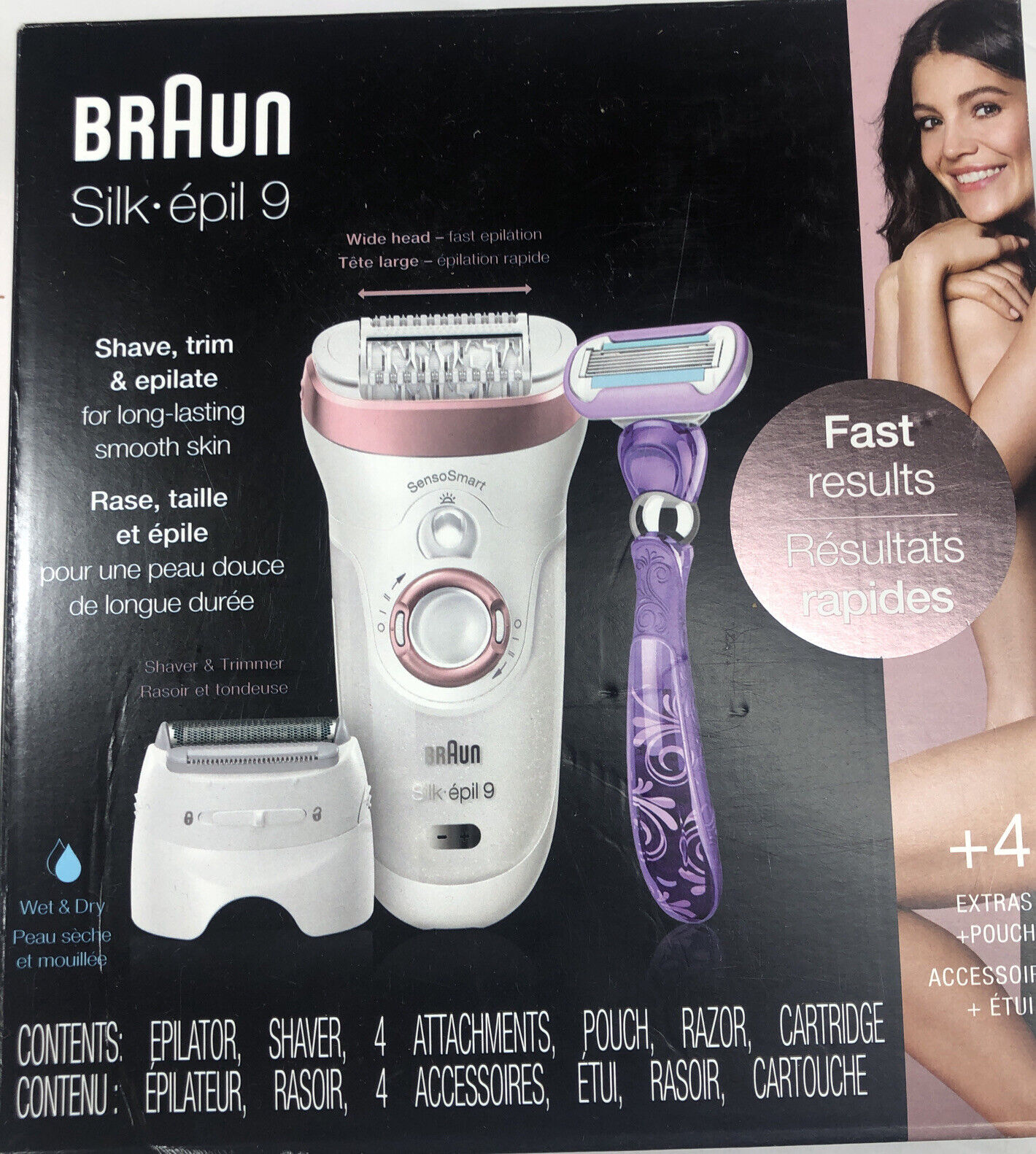 Braun Silk épil 9 Sensosmart 9 870 Wet Dry Epilator For Sale Online Ebay