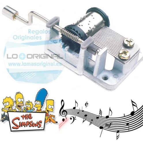 Box Musical with Crank the Simpsons Cajita de Music