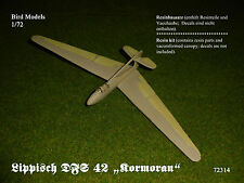 "Lippisch DFS 42 ""Kormoran""           1/72 Bird Models Resinbausatz / resin kit"