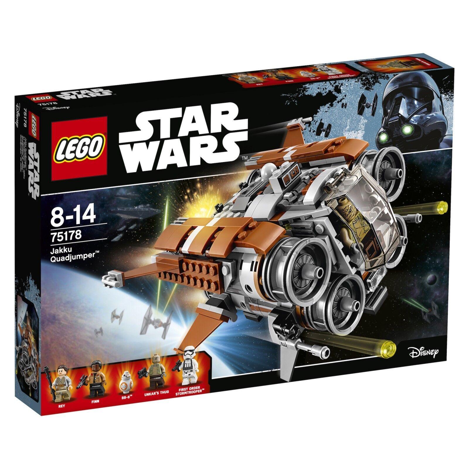 LEGO ® Star Wars ™ 75178 Jakku quadjumper ™ Nouveau neuf dans sa boîte _ NEW En parfait état, dans sa boîte scellée Boîte d'origine jamais ouverte