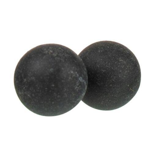 100 x Hard Rubber Balls Paintballs Reballs 43 Cal T4E RAM Shooting Defense