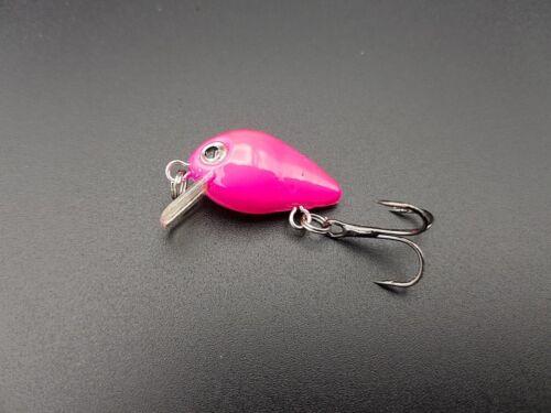 Mini Wobbler Set 10 Stück 1,7g Forellenwobbler Barsch Döbel Crankbait W19