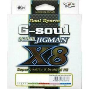 YGK Galice Ultra Jig Man X8 300m No.3 for sale online