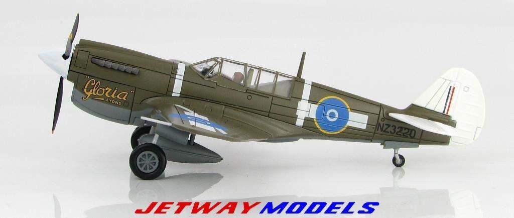 Nouveau 1 72 Hobby Master Royal New Zealand air force Curtiss P-40 Warhawk HA5506