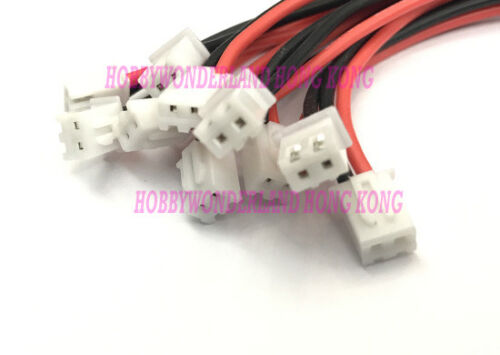 JST-XH 1S 3.7V Battery Silicone 10cm wire for IMAX B6 LiPO Balance Charger x 20