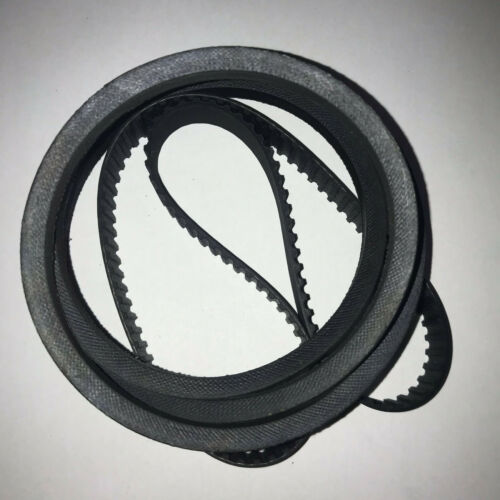 **2 NEW Replacement BELT** Central Machinery 8x12 44859 Lathe pt #/'s 1520 /& 1521