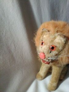 Vintage-ALPS-Wind-Up-ROARING-LION-1950-039-s-Toy-Working-Key-Turning