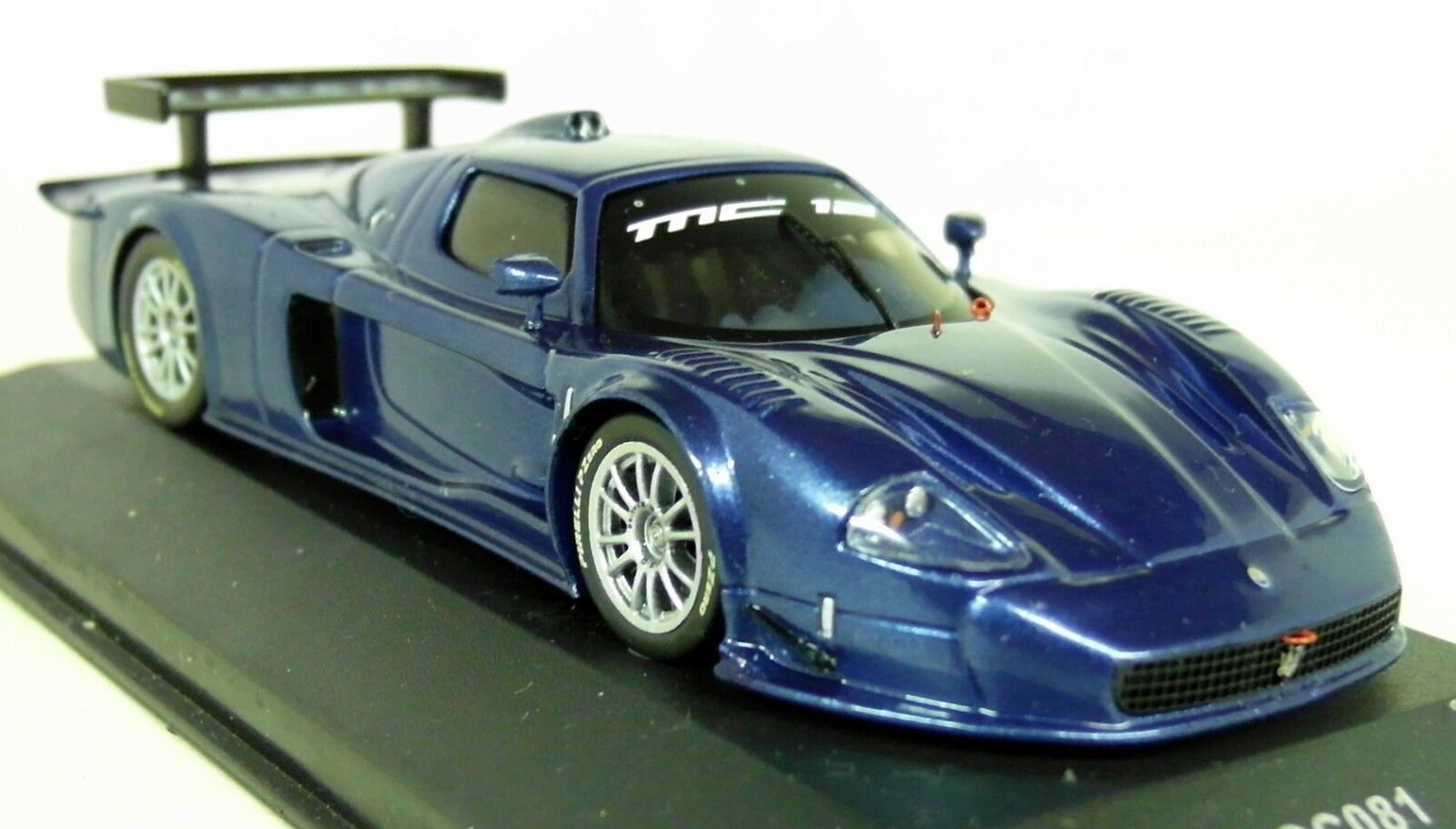 Ixo 1 43 Scale - MOC081 Maserati MC12 Versione Corsa Met bluee Diecast Model Car