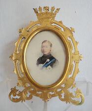 Prince Arthur Royal Victorian Presentation Frame Photo 1874 Chelsea Pensioner