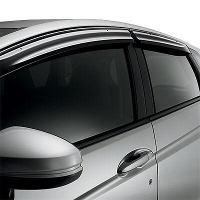 Genuine OEM 2003-2011 Honda Element Door Window Vent Visors Rain Guards FRONT!