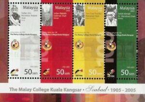 SJ-100th-Anniversary-of-the-Malay-College-Kangsar-Malaysia-2005-ms-MNH