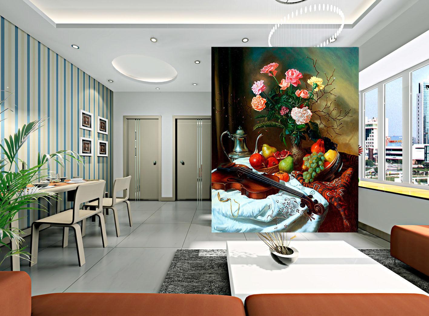 3D Fruit Petal 53 Wallpaper Murals Wall Print Wall Mural AJ WALLPAPER UK Jenny