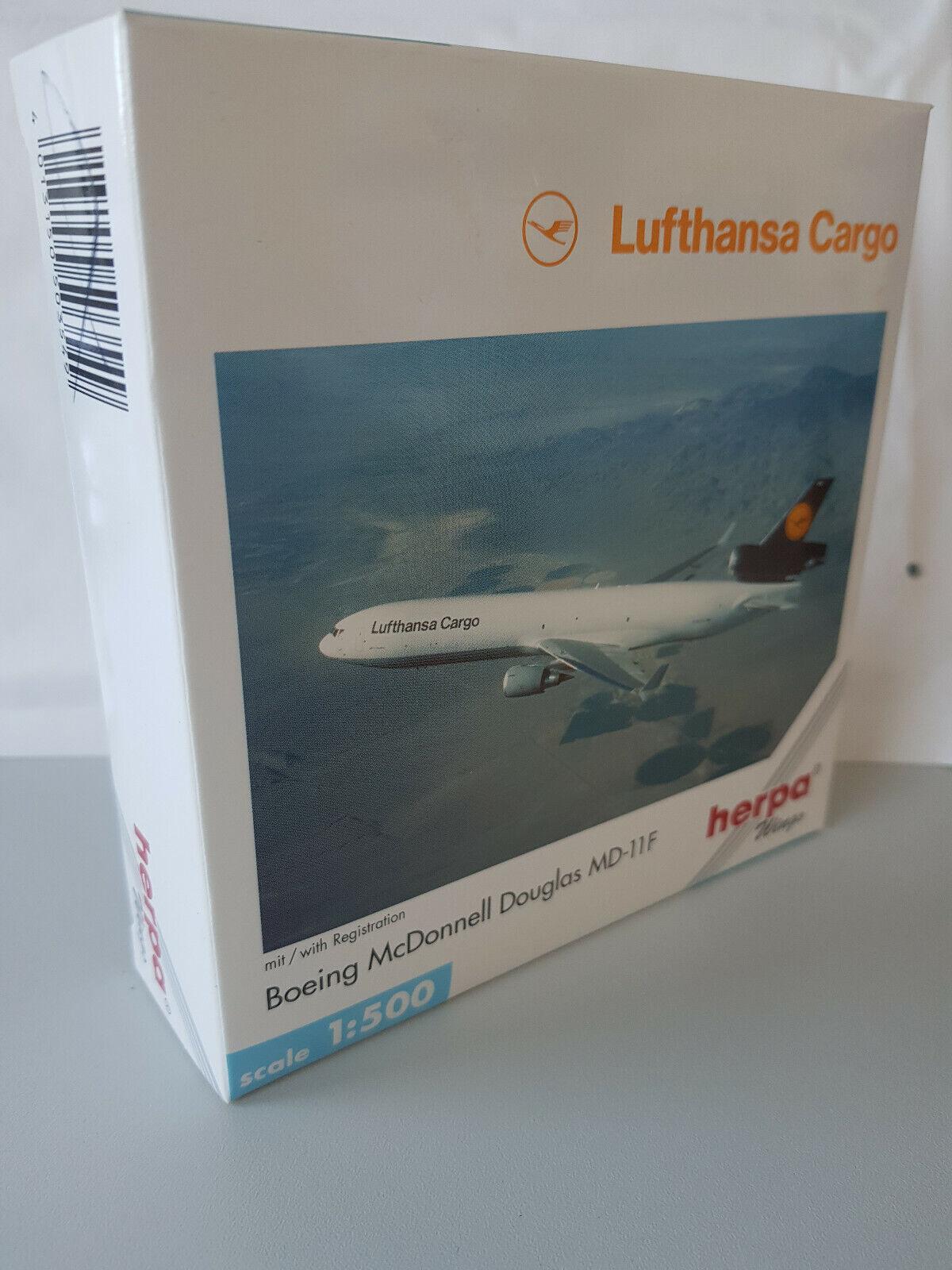 descuentos y mas 1 500 Herpa Wings 503549 lufthansa lufthansa lufthansa Cochego McDonnell Douglas md-11  los últimos modelos