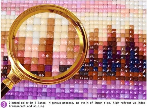 DIY Diamond Painting Unicorn Horse Rainbow Garden Embroidery Cross Stitch Decor