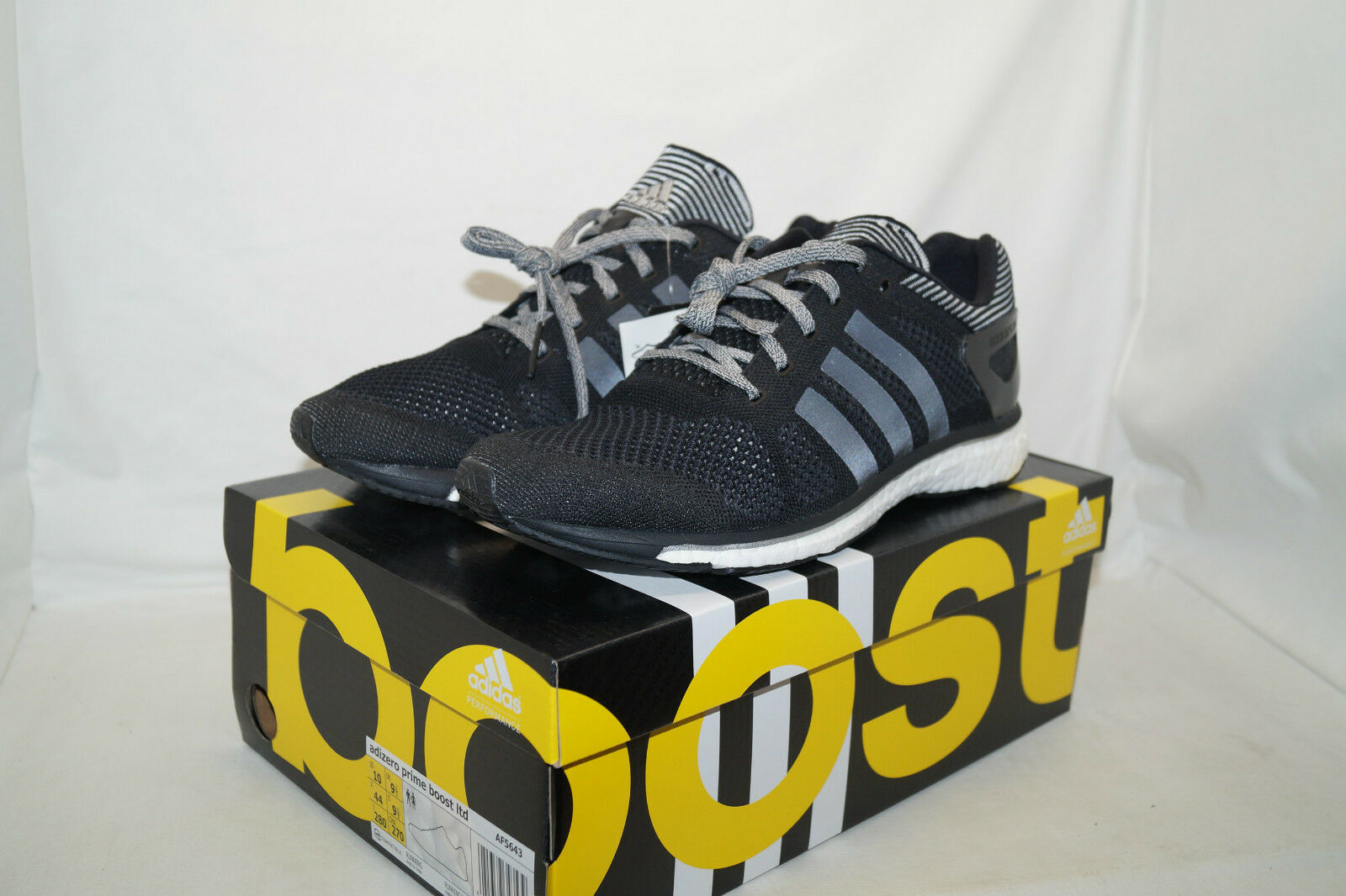 Adidas negro adizero prime aumentar Ltd 233/1267 GR 44 negro Adidas Weiss af5643 5a05fa