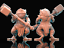 28mm-Warrior-Toad-Bullywog-D-amp-D-Bestiary-multi-listing thumbnail 5