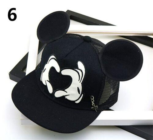 Kid Boys Girls Cartoon Superhero Baseball Cap Mickey Mouse Hat Adjustable Casual