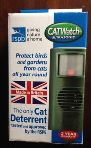 CAT-WATCH-DETERRENT-SCARER-ULTRA-SONIC-WITH-UK-MAINS-ADAPTER