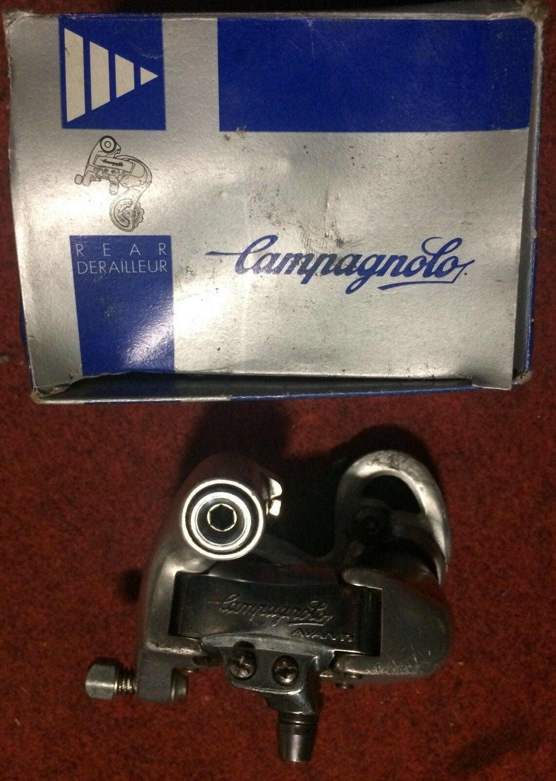 Campagnolo Avanti Bike Rear  Derailleur 9 Speed V Bike Race Rear Gear  retail stores